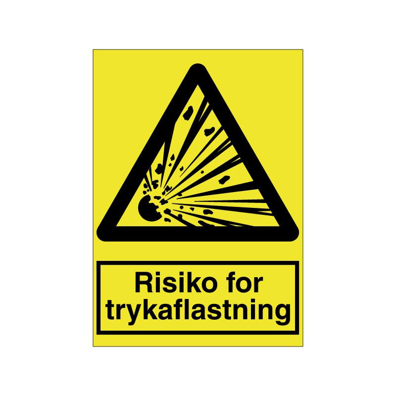 Risiko for trykaflastning
