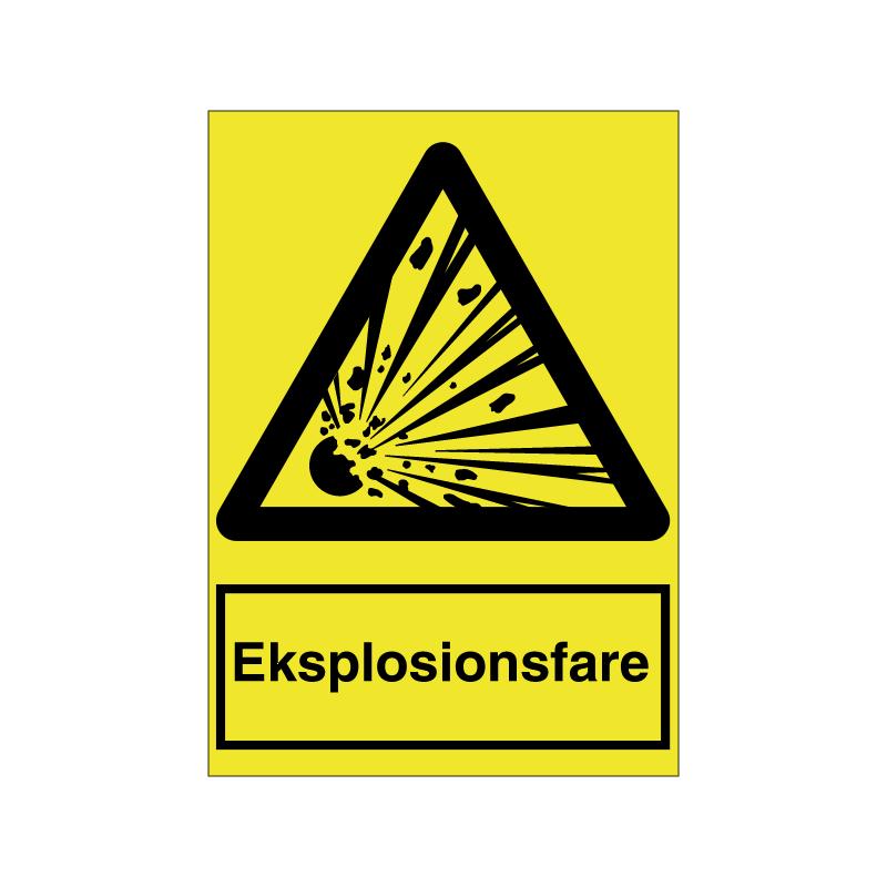 Explosionsfare