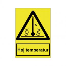 Høj temperatur