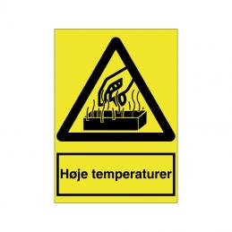 Høje temperaturer