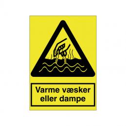 Varme væsker eller dampe