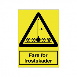 Fare for frostskader