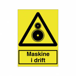 Maskine i drift