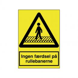 Ingen færdsel på rullebanerne
