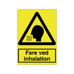 Fare ved inhalation