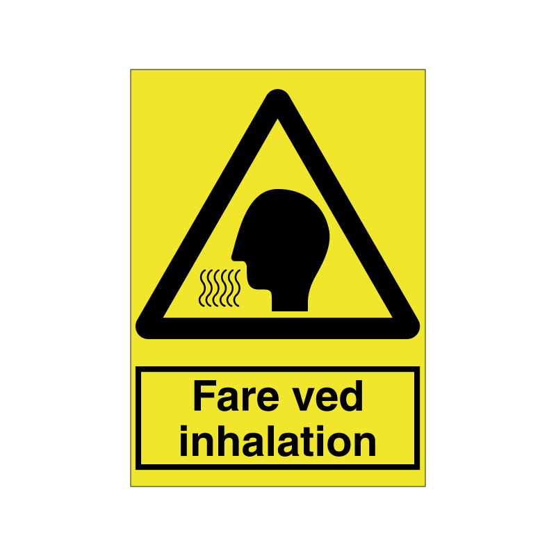 Fare ved inhalation