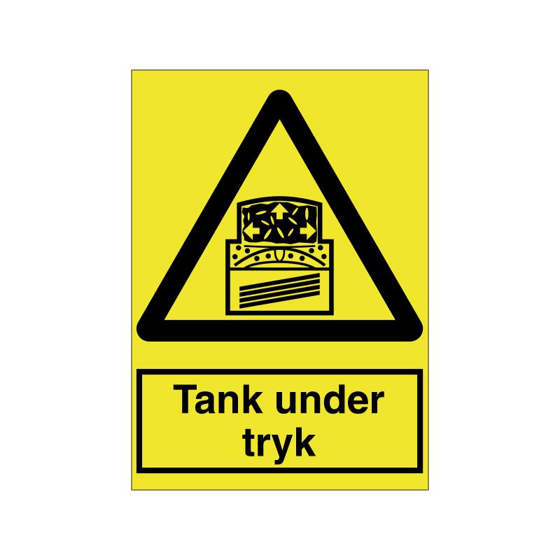 Tank under tryk