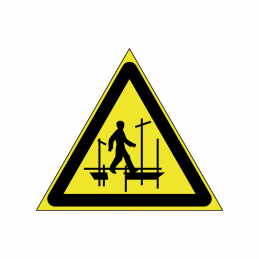 Pas på stillads ikke færdiggjort