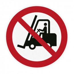 m2 Sikkerhedssymbol - Truckkørsel forbudt