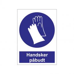 Handsker påbudt
