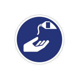 Benyt håndbeskyttelse