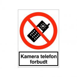 Kamera telefon forbudt