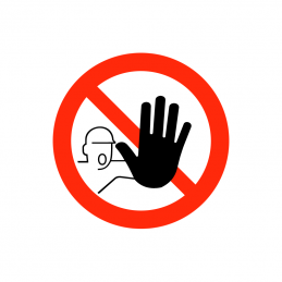 Adgang forbudt for uvedkommende
