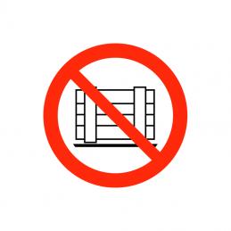 Henstilling og opbevaring af ting forbudt