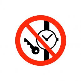 Små metalgenstande forbudt
