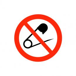 Sikkerhedsnåle forbudt