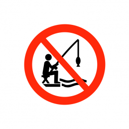 Fiskeri forbudt