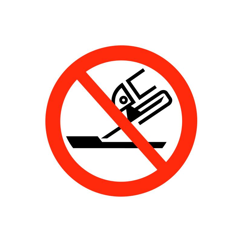 Kantslibning forbudt