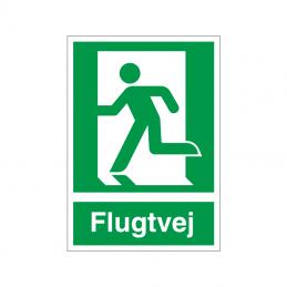 Flugtvej / nødudgang venstre