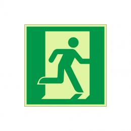Flugtvej / nødudgang mod højre