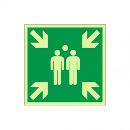 Samlingssted / samlingspunkt / evakuering