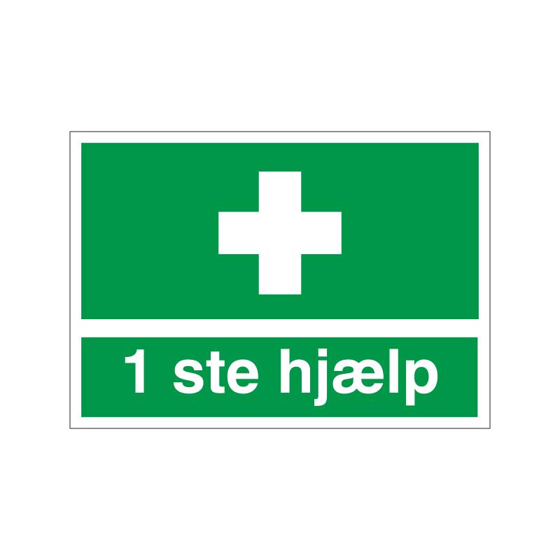 1 ste hjælp
