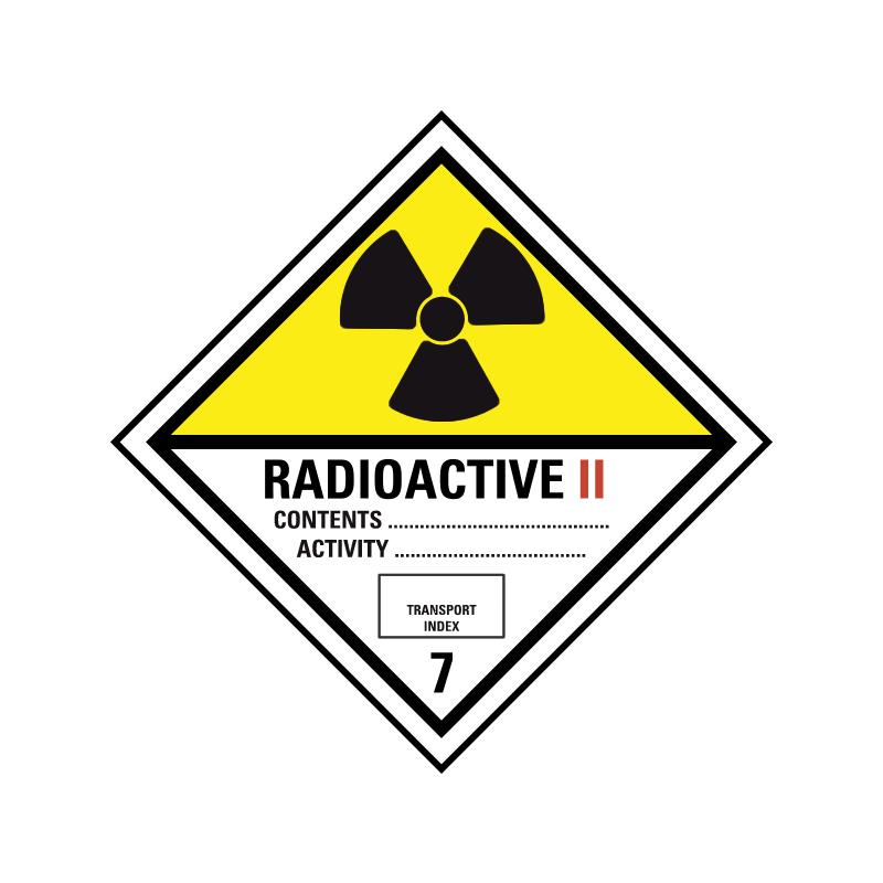 Radioaktive stoffer kat. 2