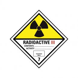 Radioaktive stoffer kat. 3