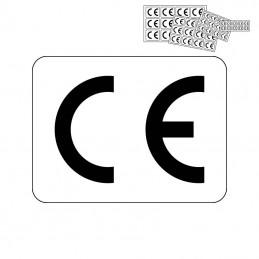 CE mærkat - firkantet