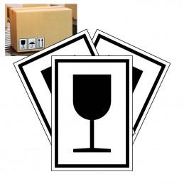 emballagemærke forsigtig skrøbelig