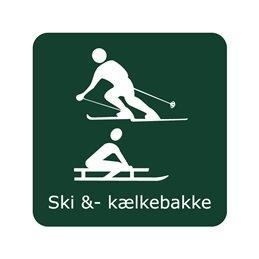 naturstyrelsen - ski og kælkebakke
