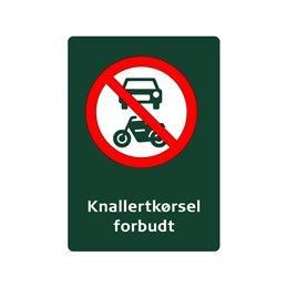 naturstyrelsen - motorkørsel forbudt