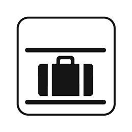 dansk standard - bagageplads