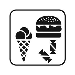 pictogram - Is & Burger