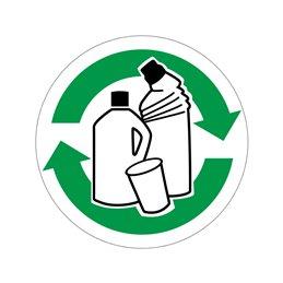 pictogram / piktogram - Plastvarer genbrug