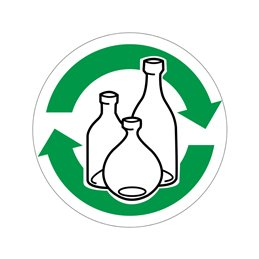 pictogram / piktogram - Glas genbrug