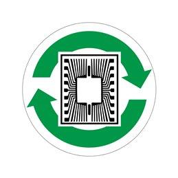 pictogram / piktogram - Elektronik genbrug