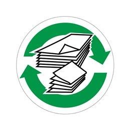 pictogram / piktogram - Papir genbrug