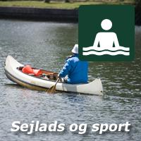 Sejlads, sport og badning