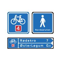 F - Vejvisning for cyklister