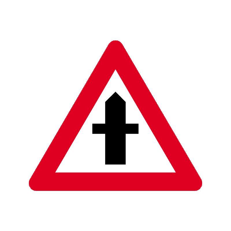 A 11 - Farligt vejkryds
