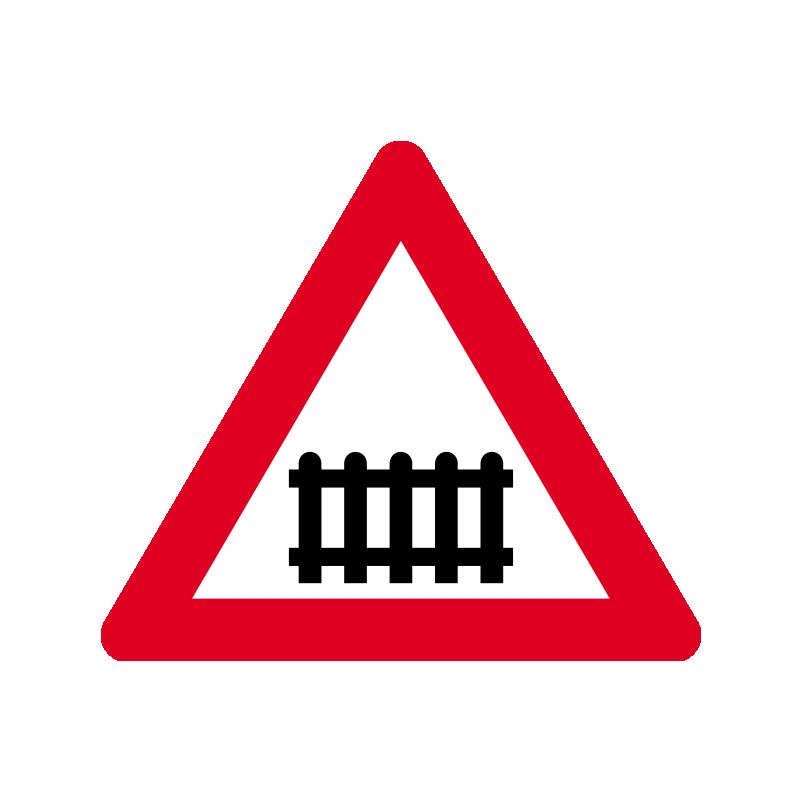 A 73 - Jernbaneoverkørsel med bomme