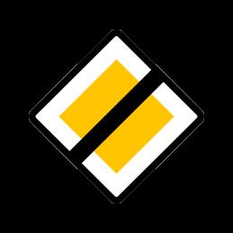 B 17 - Hovedvej ophører