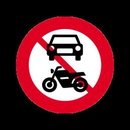 C22.1 - Motorkøretøj forbudt