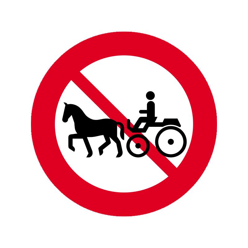 C24.2 - Hestevogn og lignende forbudt