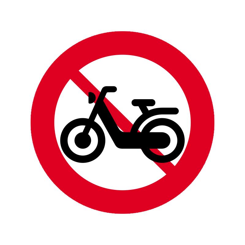 C25.2 - Lille knallert forbudt