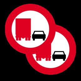 C52/C52 - Overhaling med lastbil forbudt
