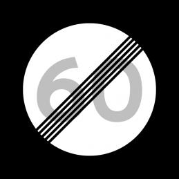 C56 - Ophør af lokal hastighedsbegrænsning
