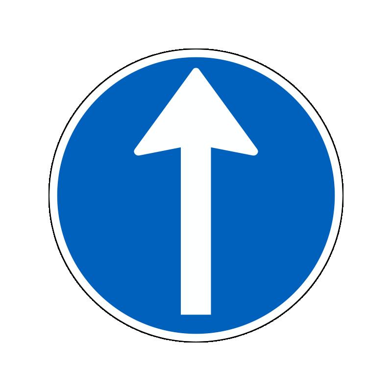 D11.1 - Påbudt kørselsretning