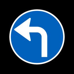 D11.4 - Påbudt kørselsretning